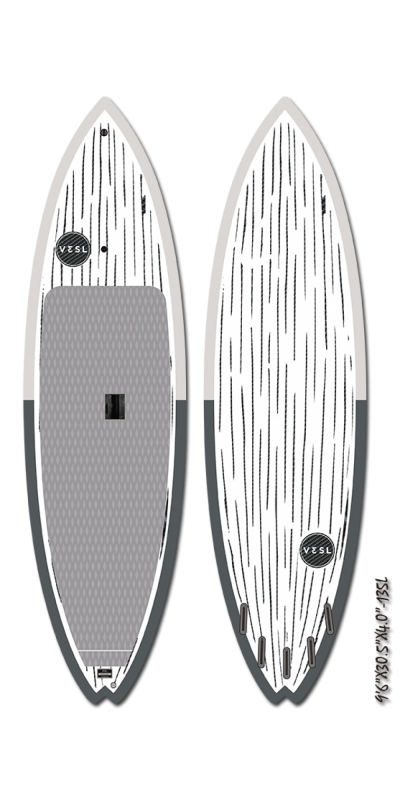 "9'6"" Surf SUP Performer Series Carbon Paddleboard 